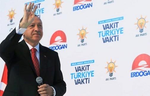 """Erdoğan; """"Her iki seçimden de yüzümüzün akıyla çıkacağız"""""""