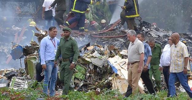 Küba'da yolcu uçağı düştü; 107 Yolcu hayatını kaybetti
