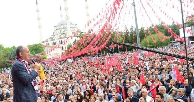 """Muharrem İnce Kırıkkale'den seslendi; """"İlk işimiz bu milletvekili sayısını indirmek olacak."""""""