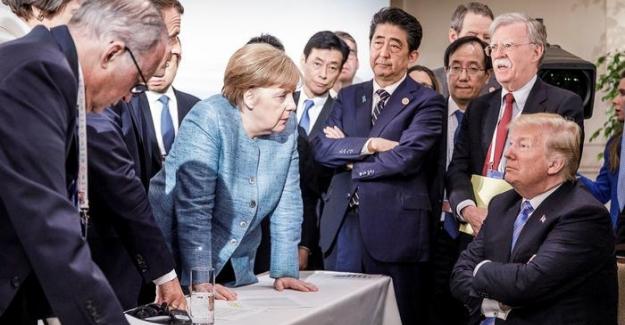 ABD G7 kapanış bildirgesini imzalamadı