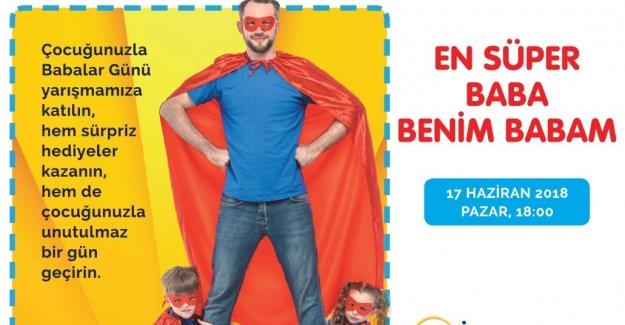 """İnegöl AVM'de  """"En Süper Baba Benim Babam"""" yarışması"""