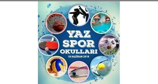 Nilüfer'de Yaz Spor Okulları başlıyor