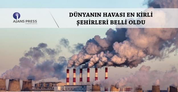 Ankara, İstanbul ve İzmir de bu kirli liste içerisinde