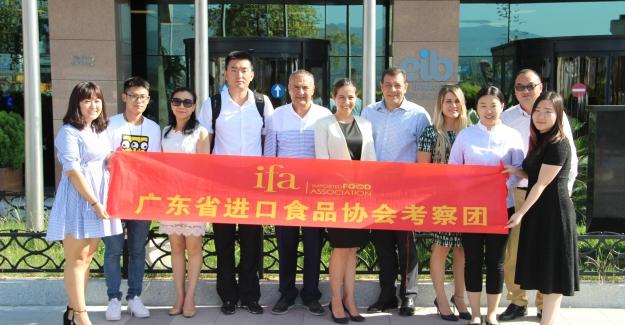 Çinli gıda ithalatçıları Türkiye'de