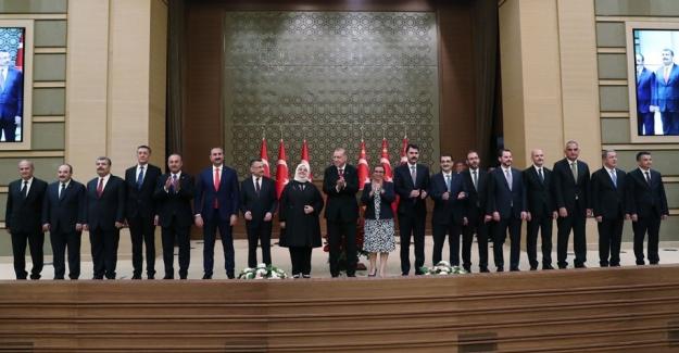 Cumhurbaşkanlığı Hükümet Sistemi'nin ilk kabinesi (İşte yeni Bakanlar Kurulu)