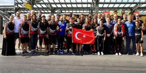 """Ay-Yıldızlı Ekibimiz Avrupa Şampiyonasında: """"Haydi Çılgın Türkler !."""""""