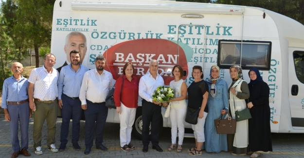 """Bozbey: """"Ahmet Yesevi'de ihtiyaçlar tamamlanacak"""""""