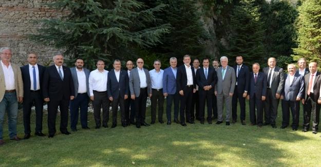 Bursa İş Dünyası'ndan Bursaspor'a Destek
