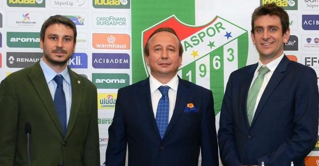 Bursaspor Anadolu Sigorta ile devam dedi