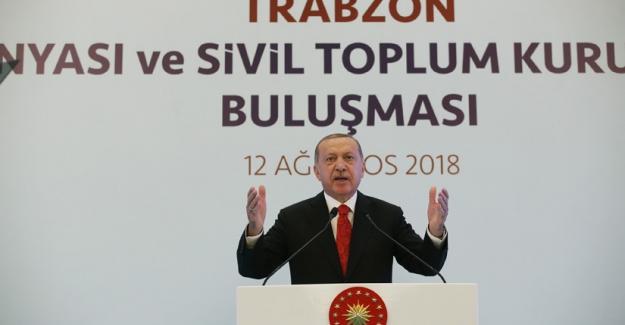 """Cumhurbaşkanı: """"Ekonomimize kur üzerinden uygulanan operasyonunun üstesinden geleceğiz"""""""