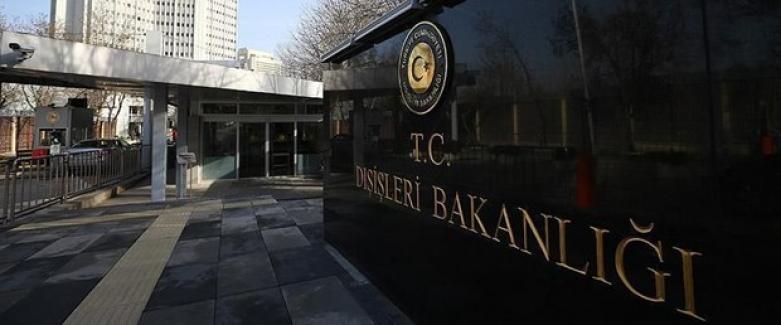 Dışişleri Bakanlığı Sözcüsü Aksoy'dan Macron'a tepki