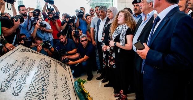 Filistinli aktivist Temimi'nin özgürlüğüne kavuştuğu an