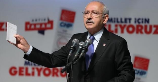 Kılıçdaroğlu, Erdoğan'ın 100 Günlük icraat proğramını eleştirdi
