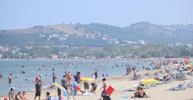 Yenilenen Bursa sahillerine ilgi yoğun