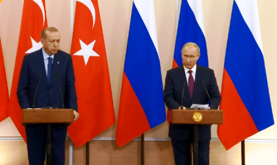 """Cumhurbaşkanı Erdoğan: """"İdlib meselesinin Astana ruhuna uygun çözülmesinde mutabık olduğumuzu gördük"""""""