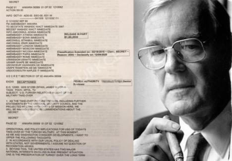 İtiraf... ABD'nin 12 Eylül belgeleri ortaya çıktı !..