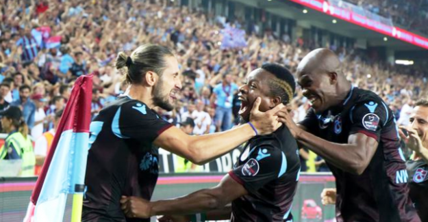 Trabzonspor Galatasaray'ı dağıttı:  4 - 0