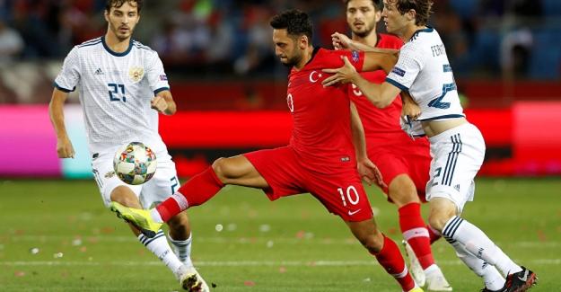 UEFA Uluslar Ligi maçında Rusya, Türkiye'yi 2-1 mağlup etti