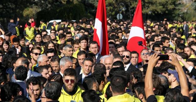 1907 Fenerbahçe Derneği ve 1907 Ünifeb Ata'nın huzurunda
