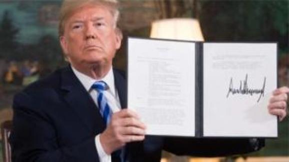 ABD İran'a yaptırımların tümünü yeniden yürürlüğe koyuyor, 8 ülke muaf