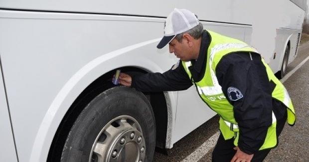 Bursa'da araçların kış lastiği uygulaması 1 Aralık'ta başlıyor