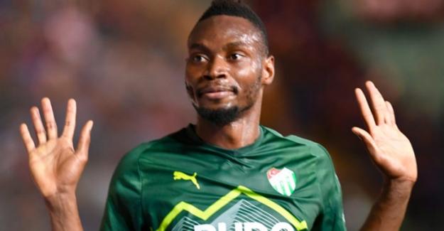 Bursaspor'un Senegalli golcüsü Diafra Sakho, 6 maçtır gole hasret