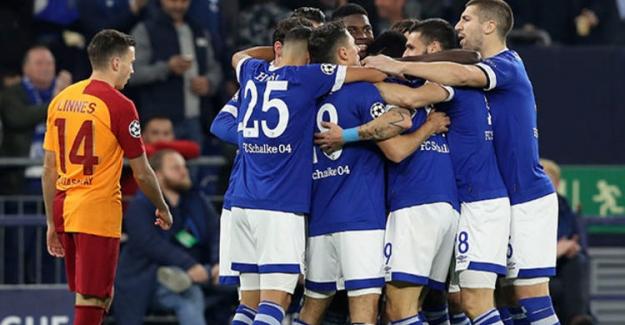Galatasaray deplasmanda Schalke'ye yenildi