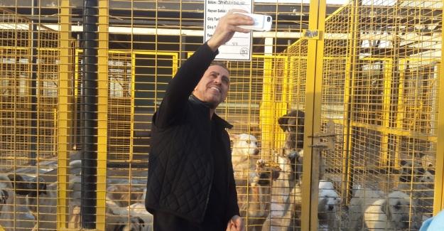 Haluk Levent Nilüfer'deki Hayvan Bakım Merkezi'ne hayran kaldı
