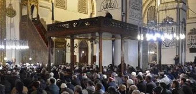 """Bursa Halkının camilerde """"Mevlüt Kandili"""" buluşması muhteşemdi"""