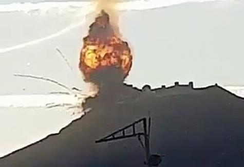 Askeri Karakol'da kazaen mermi patlaması, çok sayıda kayıp ve yaralımız var
