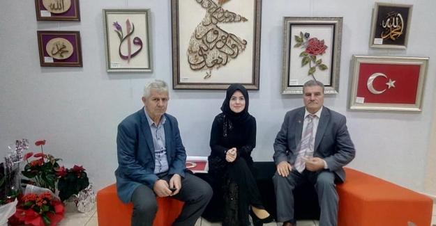 Ümran Aktaş'ın Filografi Sergisi Konak Kültür Evi'nde