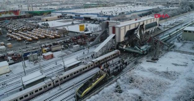 Ankara'da Yüksek Hızlı Tren kazası: 9 ölü