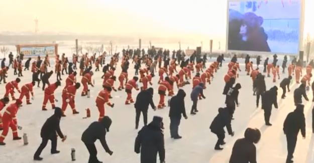 Çin'de festival havasında kış gündönümü