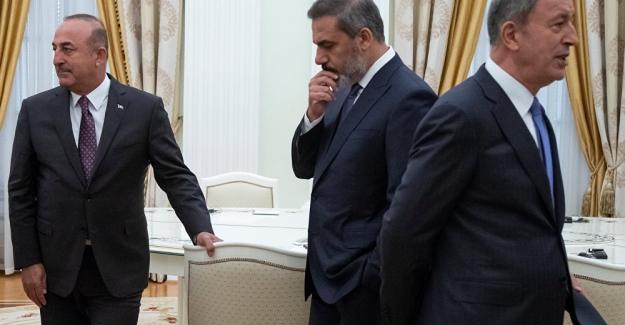 """Türk Heyeti Rusya'ya gidiyor: Gündem """"Suriye hava sahasının kullanımı"""""""