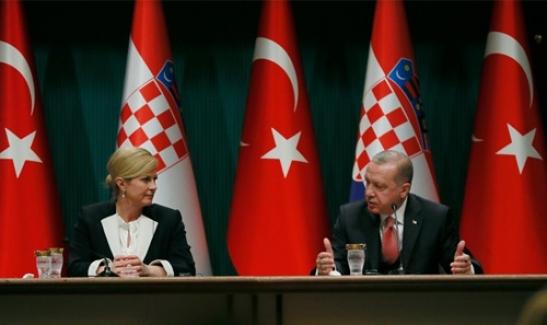 Hırvatistan Cumhurbaşkanı Kolinda Grabar Kitaroviç'den Ankara ziyareti