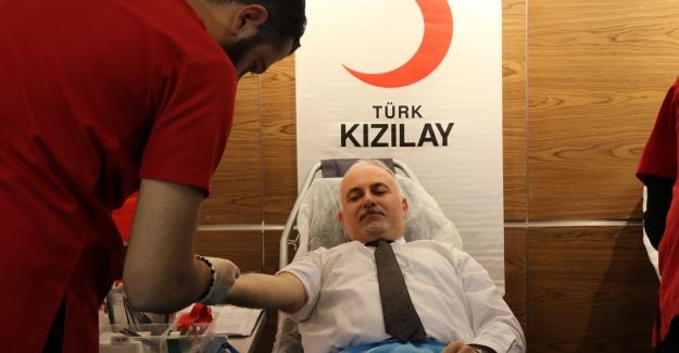 Kan bağış çağrısına vatandaşlar duyarsız kalmadı
