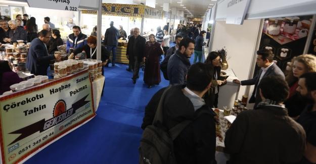 Organik Ürünler Fuarı'nı 17 bin kişi ziyaret etti