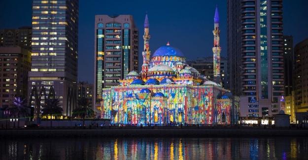 Avrupa ve Arap kültürünün buluştuğu Şarika Işık Festivali