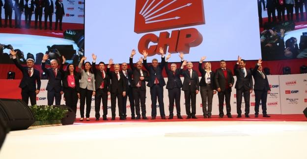 CHP Bursa adayları Ankara'da tanıtıldı