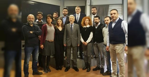 -CHP Nilüfer Belediye Başkanı Turgay Erdem, ÇGD Bursa Şubesi'nde