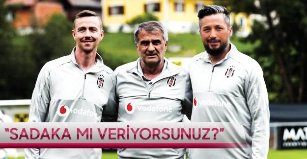 """İlhan Mansız'dan Beşiktaş Kulüp Yönetimine sert çıkış: """"Sadaka mı veriyorsunuz!.."""""""