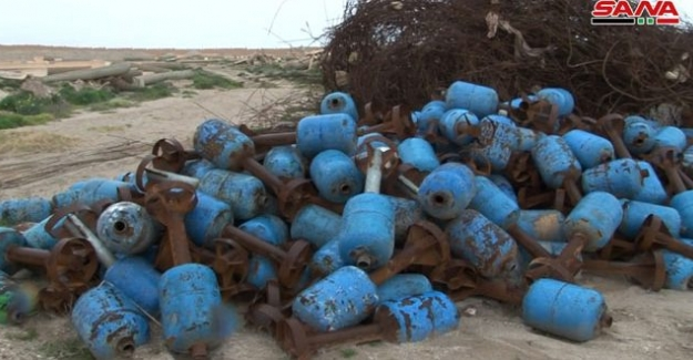 Irak'ta IŞİD'in roket imal ettiği atölye bulundu