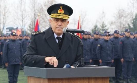 """Jandarma Genel Komutanı Orgeneral Arif Çetin: """"Vatan toprağının her karışı namusumuzdur"""""""