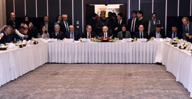 """Kılıçdaroğlu """"Üreten, Çalışan, Hakça Paylaşan Türkiye"""" toplantısında konuştu"""