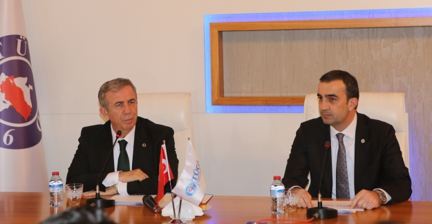 """Mansur Yavaş TÜGİAD'ın konuğu oldu: """"Ankara'da çok fazla ölü yatırım var"""""""