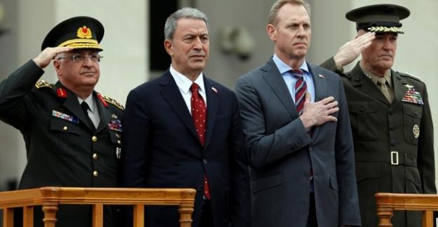Milli Savunma Bakanı Akar ve Genelkurmay Başkanı Orgeneral Güler PENTAGON'da
