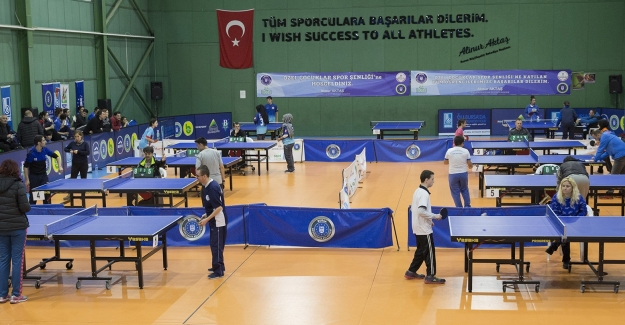 'Özel Çocuklar Masa Tenisi Şenliği'