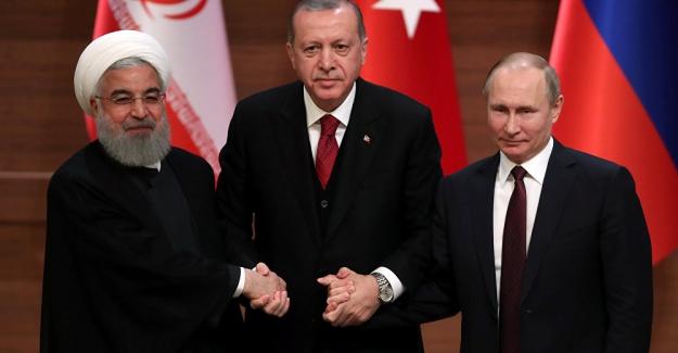 'Rusya-Türkiye-İran ittifakı, Suriye sorununu çözerse bölgede yeni güç haline gelir