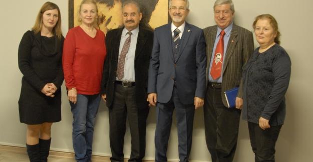 Turgay Erdem, sivil toplum  kuruluşları temsilcileriyle