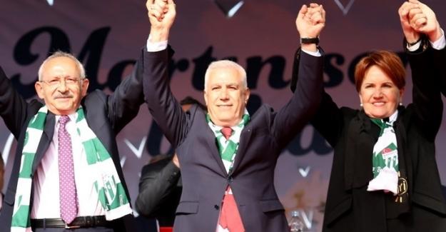 Akşener ve Kılıçdaroğlu'ndan Bursa'da gövde gösterisi
